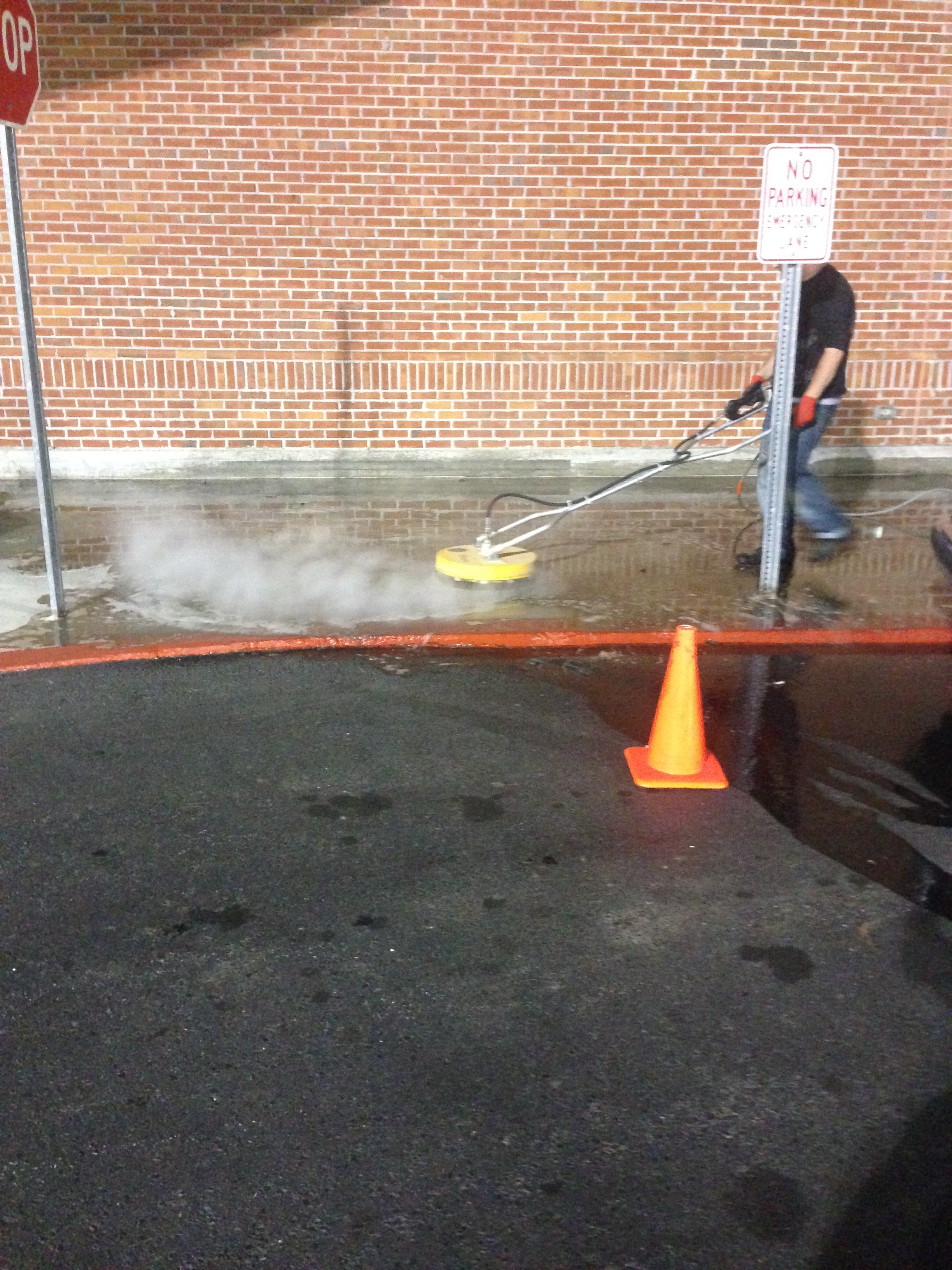 Concrete Surface Cleaning In Hunstville Al Clear Shine