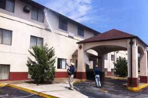 Commercial Pressure Washing in Meridianville, Alabama