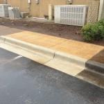 Curb and Sidewalk cleaning in Huntsville, AL